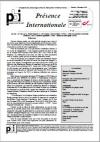 Présence Internationale N° 130